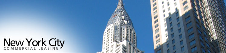 New York City Commercial Leasing provides information on leasing commercial space & commercial real estate in New York City.